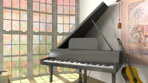 Music Room - Living room - by emilypinnock