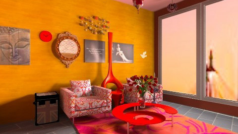 red victor - Country - Living room - by guestrajeev