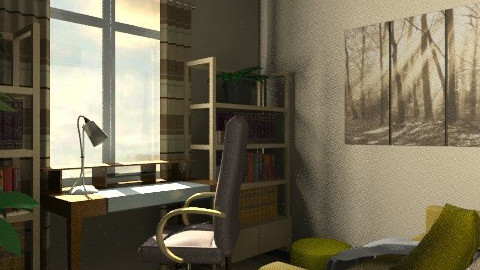 ira office - Eclectic - Office - by chania