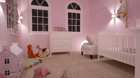 Meisjeskamer 2 - Classic - Kids room - by Perta