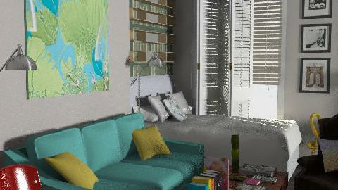 TTK-studio_flat - Bedroom - by rob_b
