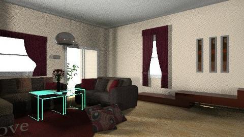 LOVE  - Living room - by Menna Ibrahim