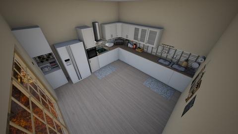 family home 93 - Modern - Kitchen - by Stavroula Chatzina