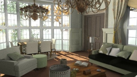 Stamford Detail 2 - Classic - Living room - by camilla_saurus