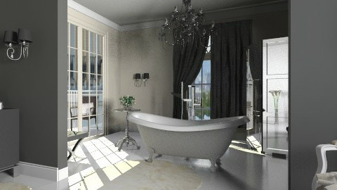 Glamorous - Bathroom - by MilaMao