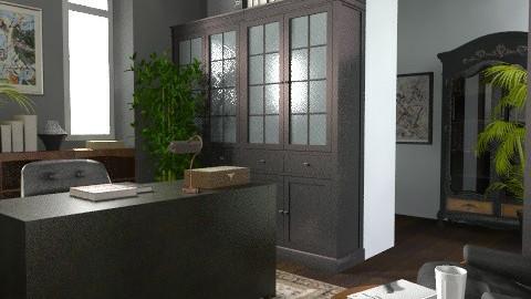 dark office - Classic - Office - by KatjaHM