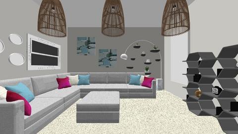 Grey - Living room - by Kmblake1995