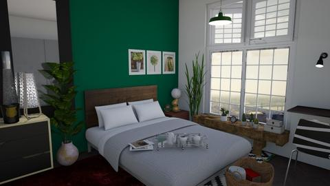 Saturday a m - Masculine - Bedroom - by Tree Nut