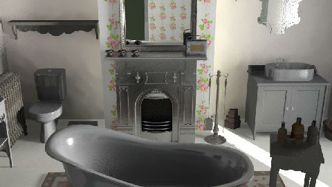 A vintage touch - Bathroom - by glamour princess