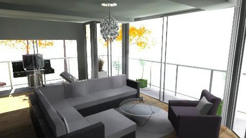 Livingroom 5 - Modern - Living room - by oxigen