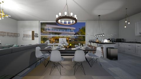 dream apartment dining ro - Dining room - by carmenouloulou