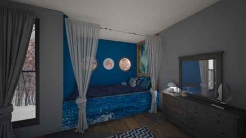 Nautical dreams - Bedroom - by JarvisLegg