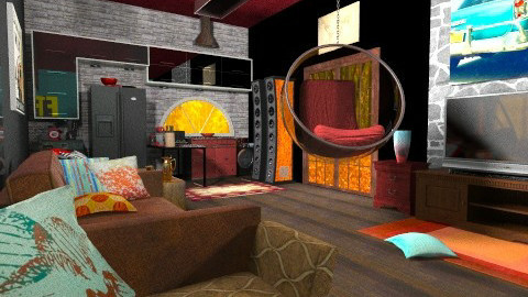 Teenager Loft - Eclectic - by rotheratti