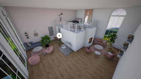 2 Floor Room - Bedroom - by Ellzbee