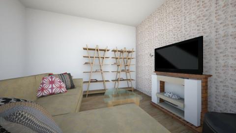 Salón pequeño - Living room - by Lauramv_4ever