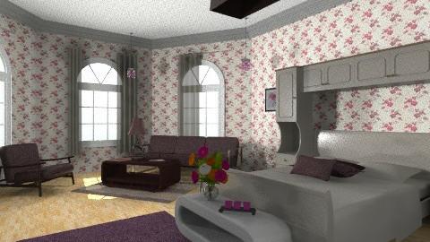 Week End Vacation - Bedroom - by Menna Ibrahim