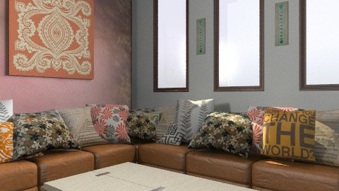 Boho Lounge - Eclectic - Living room - by tayloriginal