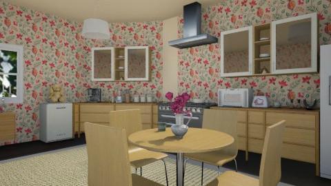 Nae kitchen - Kitchen - by moonissa