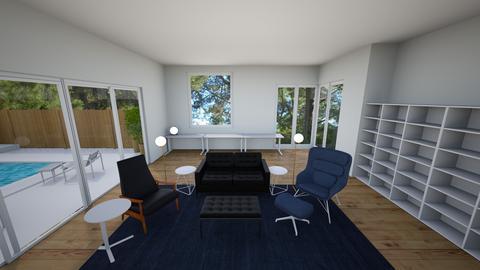 Tymchuk Residence studio2 - Living room - by Zofko