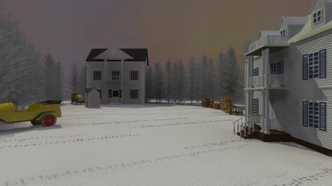 SnowTown - Classic - Garden - by LukePratt