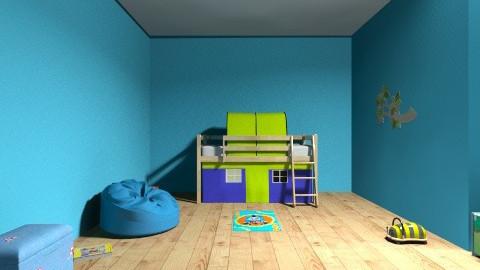 Little boys room  - Glamour - Kids room - by hannah1122