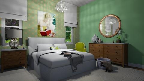 Retreat - Bedroom - by KellyJR