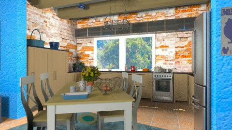 Farmhouse Kitchen - Country - Kitchen - by chloedaniella