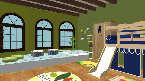 russells room  - Country - Kids room - by basim