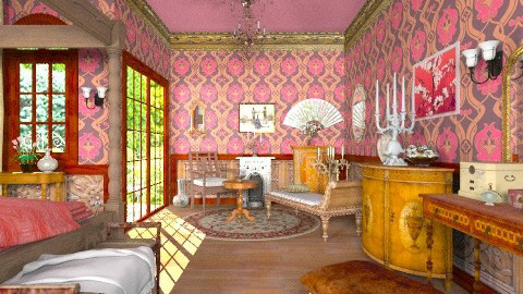 Antique bedroom - Classic - Bedroom - by Bibiche