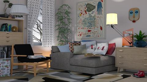 M_ Rest corner - Living room - by milyca8