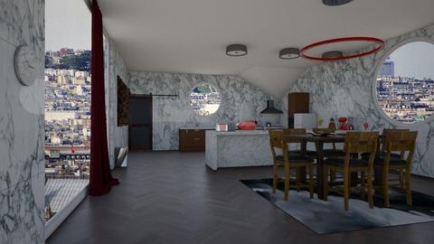Marble kitchen - Kitchen - by Jade Blt