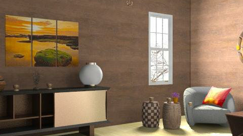 sunset falls - Global - Living room - by MagnifiquE