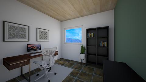 Sara office - by mikaelawilkins