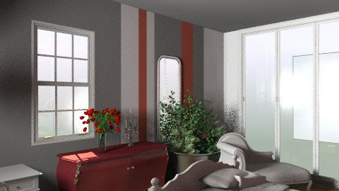 for  katelynn 2 - Eclectic - Bedroom - by calu13