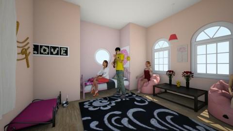 girls room 1 - by Kaylee Mahr