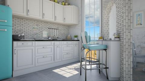 L house kitchen - Vintage - Kitchen - by Liu Kovac
