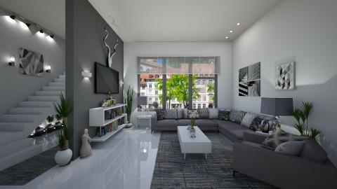 Modern Living Room  - by Kelly Carter