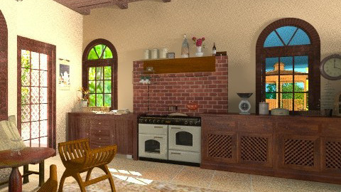 A bit of classic - Classic - Kitchen - by fay01