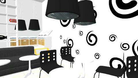 cafe4 - Vintage - by Valentina Balafa