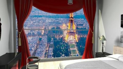 hotelroom - Glamour - Bedroom - by Stanojkovic