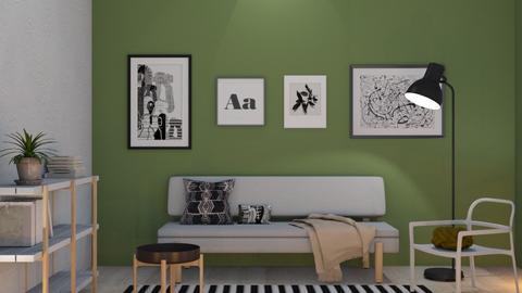 ypperlig olive - Living room - by siljaj