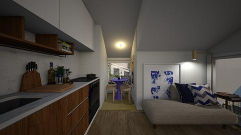 Casa330LivingArea - Classic - Living room - by nickynunes