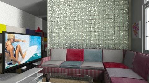 Living room - Vintage - Kitchen - by Enn