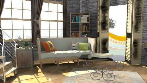 yeni - Country - Living room - by tugche_1987