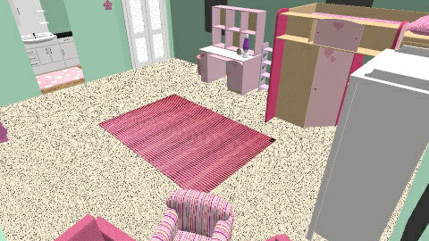 Quinns Pink Palace - Feminine - Kids room - by reallycoolusername