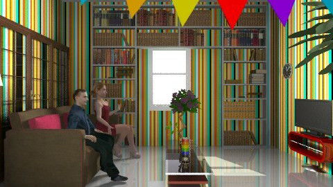lost in the rainbow - Modern - Living room - by superdeco