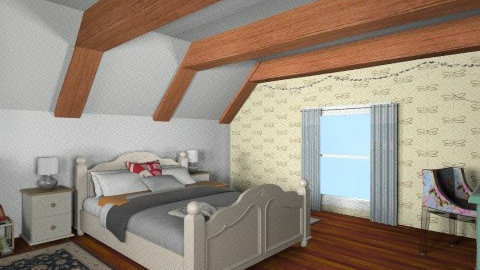 cottage bedroom  - Country - Bedroom - by bethcot