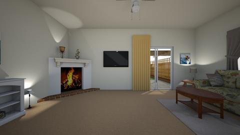 California Condo - Living room - by WestVirginiaRebel