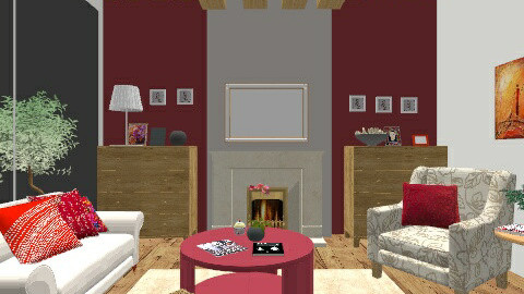 roustik - Country - Living room - by gobin