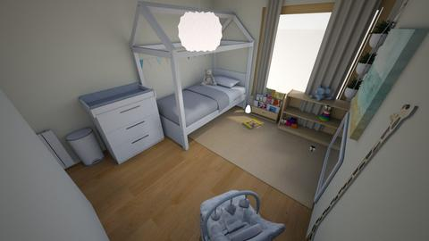 Gucio Room 2 - Minimal - Kids room - by meginflow